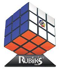Original Rubik Cube Game Base 3X3 Rubix Box Kids Toy Games Brain Teaser w/ Stand