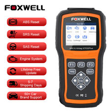 Foxwell NT630 Plus OBD2 ABS SAS Airbag Automotive Scanner Code Reader Diagnostic