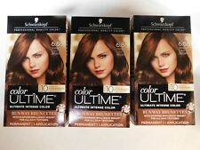 Schwarzkopf Ultime Hair Color, 3 pack- 6.86 Sparkly Light Brown