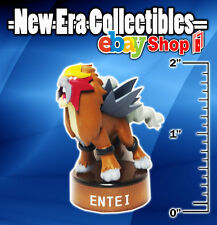 "Nintendo Entei Jakks Pacific PVC 2"" Inch Action Figure w Stand Pokemon Legendary"
