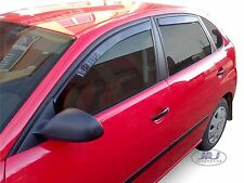 DSE28228 Seat  Ibiza Mk4 2002 - 2007  wind deflectors  4pc set TINTED HEKO
