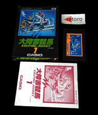 EXCITING JOCKEY CASIO 1 MSX MSX2 Rom JAP Completo GPM-101