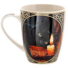 Lisa Parker Witching Hour Cat Bone China Mug.