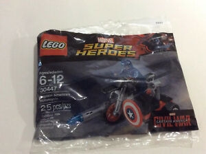 LEGO Marvel Super Heroes 30447 Captain America Motorcycle Polybag