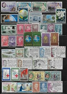 Philippines Stamps Collection of 42 All Different Most Used Issues