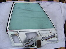 1964 65 66 CHRYSLER IMPERIAL 2 DOOR LH 1/4 WINDOW GLASS CROWN COUPE #2424709
