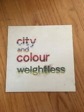 "City and Colour weightless 7"" WHITE WAX NM UNPLAYED OOP"
