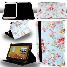 "FOLIO LEATHER STAND CASE COVER For 7"" 8"" 10"" Visual Land Prestige Elite Tablet"