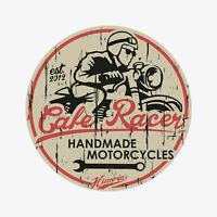 4x Cafe Racer Sticker Aufkleber, Motorrad, BMW, R80, R65, Yamaha, Honda, Suzuki
