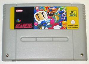 *PAL Version* SUPER BOMBERMAN 5 Game For Super Nintendo SNES Bomber Man V