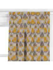 John Lewis Bespoke Triple Pleat Edris Curtains Saffron W 190cm x D 155cm £820.00
