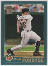 2001 Topps Baseball Baltimore Orioles Team Set