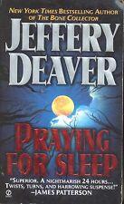 Praying for Sleep by Jeffery Deaver (1994, Paperback)