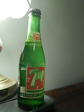 "Seven-Up (7up) ""You Like It, It Likes You"" 7oz Anchor Hocking (SODA BOTTLE) NOS"