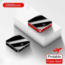mini power bank 20000mah, red/black or just black UK stock sent next day