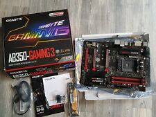 Gigabyte GA-AB350 GAMING 3 ATX Mainboard AMD Ryzen B350 Sockel AM4 DDR4 USB 3.1