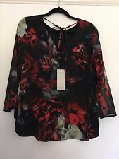 BNWT COAST / NURO PRINT TOP / MULTI / SIZE 10