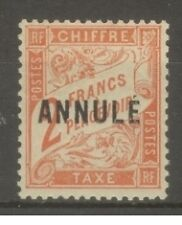 "FRANCE STAMP TIMBRE COURS D'INSTRUCTION TAXE 41-CI 1 ""2F ROUGE-O. 1911""NEUFxxTTB"