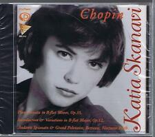CHOPIN CD NEW SONATA 2 INTRODUCTION & VARIATIONS KATIA SKANAVI