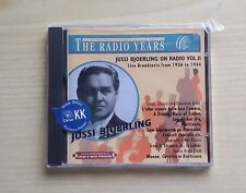 JUSSI BJOERLING ON RADIO VOL.II LIVE BROADCASTS FROM 1936 TO 1944 - CD SEALED