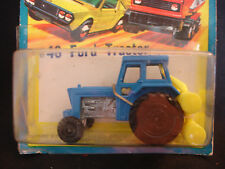 Old Vtg Matchbox Superfast Diecast #46 Ford Tractor In Blister Toy England