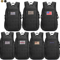 Military Tactical Molle Backpack Waterproof Trekking Army Assault Pack Rucksack