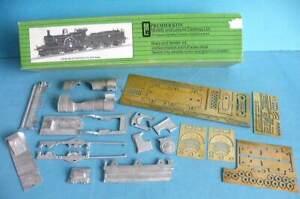 Boxed M & L 4mm OO Brass & White Metal Part Kit - GWR Dean Single 4-2-2 Loco