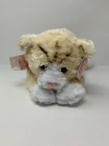 """Avon Gotta Getta Gund 16"""" Tabby The Cat Cream Fur NOS #4"""
