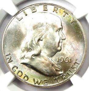 1961-D Franklin Half Dollar 50C Coin - Certified NGC MS66 FBL - $5,950 Value!