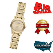 NEW Burberry  BU9227  Gold / Gold Stainless Steel Analog Quartz Women's Watch