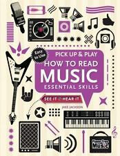 (NEW) Pick up and Play How to Read Music Essential Skills by Jake Jackson SPIRAL