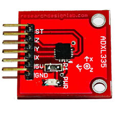 3 axis accelerometer ADXL335 for Arduino PIC Atmel Atmega X Y and Z axis