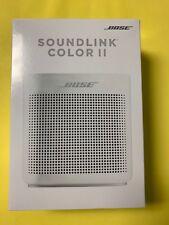 Bose SoundLink Color II 2 Bluetooth Speaker - Pearl White - NEW SEALED