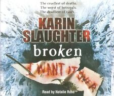Karin Slaughter - Broken (5xCD A/Book 2010) Georgia #2 *NEW/UNSEALED*