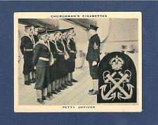 PETTY OFFICER  Gas mask training ROYAL NAVY BADGE 1937 original photocard