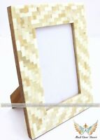 Bone Inlay Photo Frame Best Gifts for Birthday Any Occasion Table Decor Item