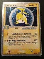 Carte Pokemon RAICHU 98/100 EX Holo Bloc EX Française