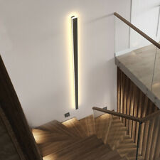 Outdoor Led Wall Light Metal Long Strip Wall Sconce Stairs Lighting Fixtures