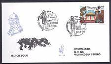 San Marino 1996 FDC Venetia Club Marco Polo