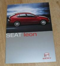 SEAT Leon BROCHURE 2000-CUPRA SPORT se S 1.8 20v T 1.9 TDI 1.6 1.4