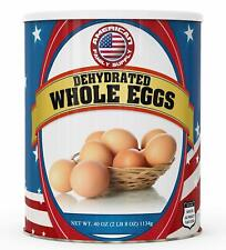 Fresh and Honest Foods Dehydrated Whole Eggs 40 OZ #10 Can, Free Shipping