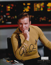 Star Trek Signed 8x10 Picture Actor William Shatner Captain James T Kirk Photo
