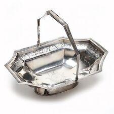 GEORGE III Sterling Silver Octagonal Shaped Cake Basket