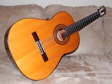 MADE IN 1972 BY TOSHIHIKO TOKUGAWA TERRIFIC CLASSICAL GUITAR MODEL ABE 63 GADD