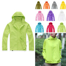 Waterproof Jacket Men Women Lightweight Rain Coat Raincoat Windbreaker Plus Size