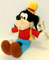 "Vintage Disneyland Walt Disney World 15"" Goofy Plush Doll Stuffed Animal Toy"