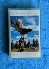 LIFESCAPES Festival Africa Cassette Tape 2001 World Music African