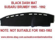 DASH MAT, DASHMAT, DASHBOARD COVER FIT SUBARU BRUMBY 1985-1992,BLACK