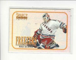 1996-97 Select Certified Freezers #11 Mike Richter Rangers