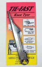 Tie-Fast Knot Tyer Fishing Tool - New